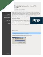 Sofware programación Avalva
