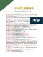 80 RAZÕES POR QUE O CRENTE NÃO PODE PERDER A SALVAÇÃO.doc