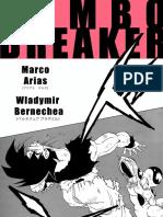 Catálogo Combo Breaker, exhibición de Marco Arias y Wladymir Bernechea.