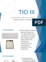 TIO III | Protoboard y circuitos