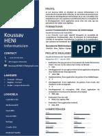 Cv Koussay Heni PDF