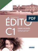 Cahier Edito C1 Santillana