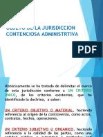 5. Objeto de la Jurisdiccion (1)