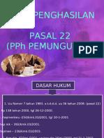 BAB 5 PPH PASAL 22.ppt