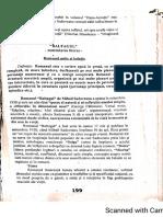 Mihail Sadoveanu Baltagul comentariu