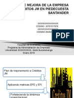 PLAN DE MEJORA DE LA EMPRESA CREDITOS JM.pptx