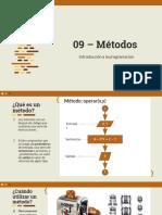 09 - Métodos - Introducción a la programación