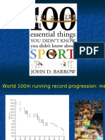 100 essential things not know about sport