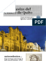 Las iglesias del Centro de Quito