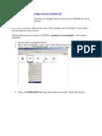 Faça CHKDSK para corrigir erros no Windows XP