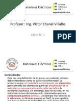 Introducción a los materiales eléctricos