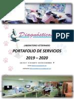 PORTAFOLIO DE SERVICIOS DIAGNOSTICOS 2019-2020