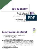 Metadati descrittivi (Paul Gabriele Weston).ppt