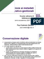 Introduzione ai metadati amministrativo-gestionali (Paul Gabriele Weston).ppt