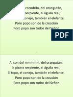 Al Son Del Cocodrilo, Del Orangutan