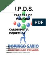 cardiopatía isquémica MAFE