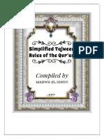 Simplified Tajweed Rules of the Qu'an by Shaykhah Marwa.pdf