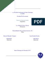 Generalidades de las Exportaciones (x)