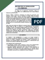 CONTABILIDAD EN LA LEGISLACIÓN COLOMBIANA