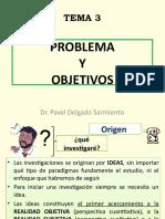 PROBLEMA Y OBJETIVOS