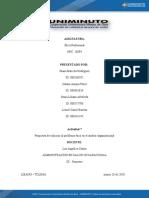 Propuesta de solución al problema ético en el ámbito organizacional Actividad 7