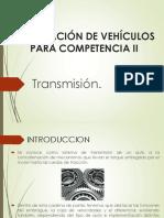CAjas de cambio coche competicion