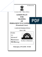 Lesson plan for Training of p. way supervisor (Promotional course)(1).pdf