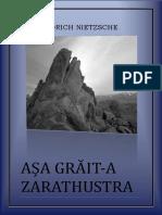 Friedrich Nietzsche - Asa grait-a Zarathustra.pdf