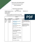 3ro EGB semana 4 Eufrasia plan de contingencia 2020  Cris
