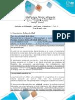 Guía de Actividades y Rúbrica de Evaluación - Fase 4 - Práctica en casa