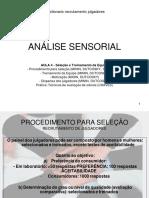 Aula 4 analise sensorial