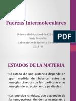 13. Fuerzas Intermoleculares quimica 1