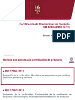 CERTIFICACION DE PRODUCTO 17065