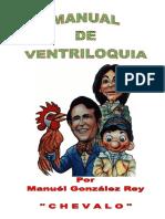 Manual de Ventriloquía, Editado