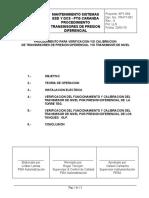 Proc. Trans. de Presion FOXBORO IDP10 Diferencial - Caranda