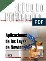 7303-15 FÍSICA Aplicaciones de las Leyes de Newton