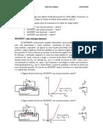 MOSFET - enriquecido e depleção