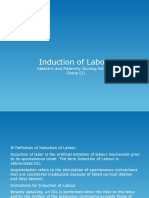 Group 1 Induction of Labour PowerPoint