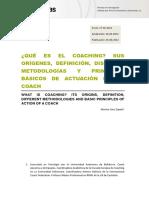 SEM 1 - ¿Qué es el coaching Sus orígenes, definición, distintas metodologías y principios básicos de actuación de un coach.pdf
