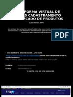 CADASTRAMENTO SIMPLIFICADO DE PRODUTOS