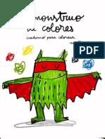 cuadernillo mounstruo de los colores
