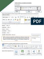 FICHA INICIO Word microsoft