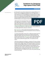 Designing High-Speed FPGA PCBs