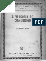 A FILOSOFIA DO COMUNISMO .pdf