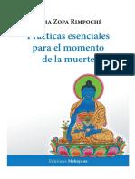 Practicas esenciales para el momento de la muerte-Zopa Rinpoche