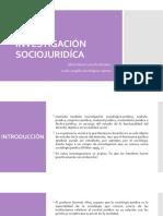 INVESTIGACIÓN SOCIOJURIDÍCA