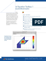Pde Tool in Matlab