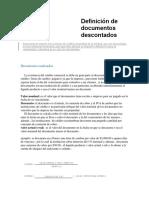 Definición de documentos descontados.pdf