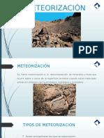 meteorizacion