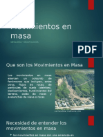 Movimientos en masa